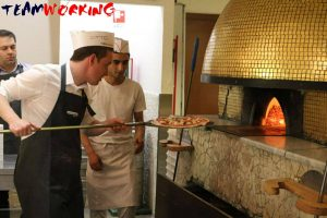Pizza Cooking Team Building