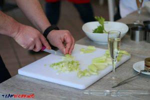 Healthy cooking activity