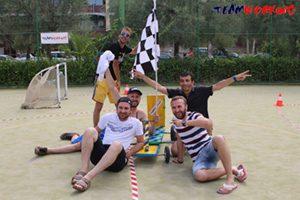 Crazy Car Race Action Team Building