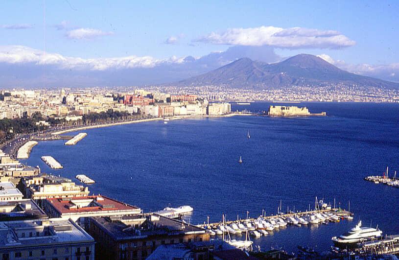 Napoli e la sirena Partenope: Golfo di Napoli