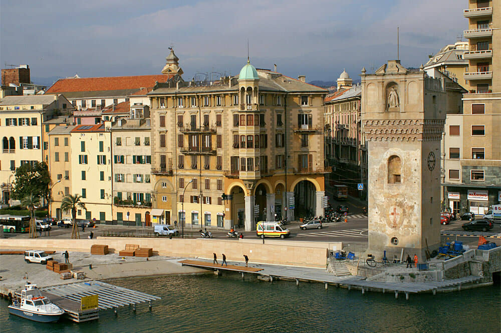 Savona: la Città dei Papi. Porto