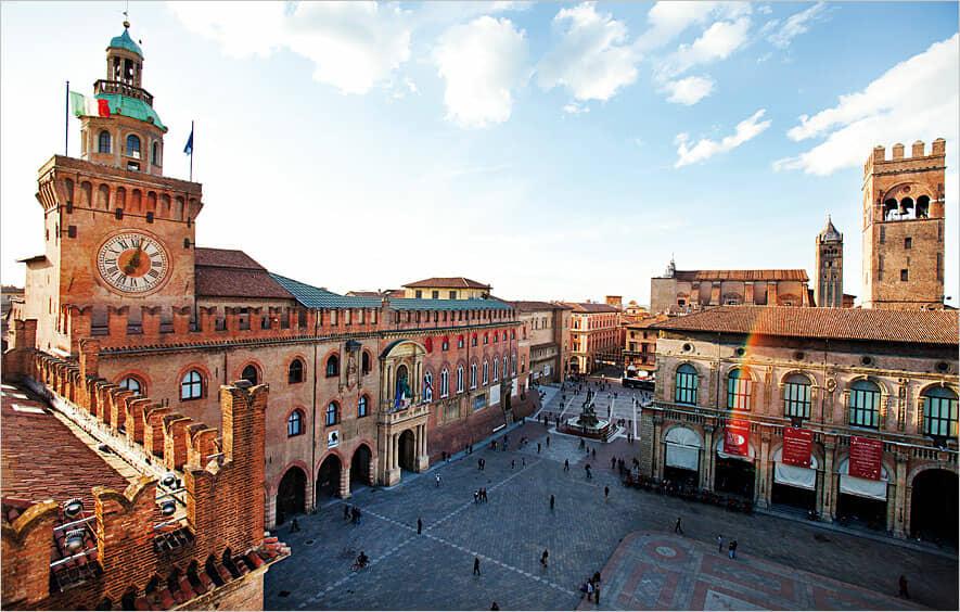 Bologna: la città della cucina con un turista d'eccezione