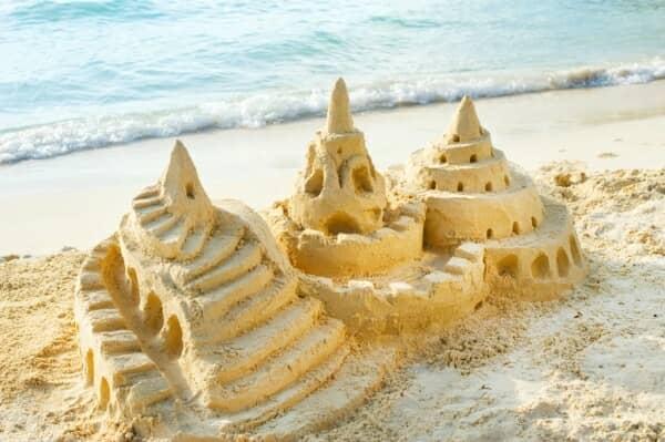 Sand Castles Building