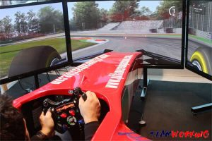 Guida sportiva su Ferrari