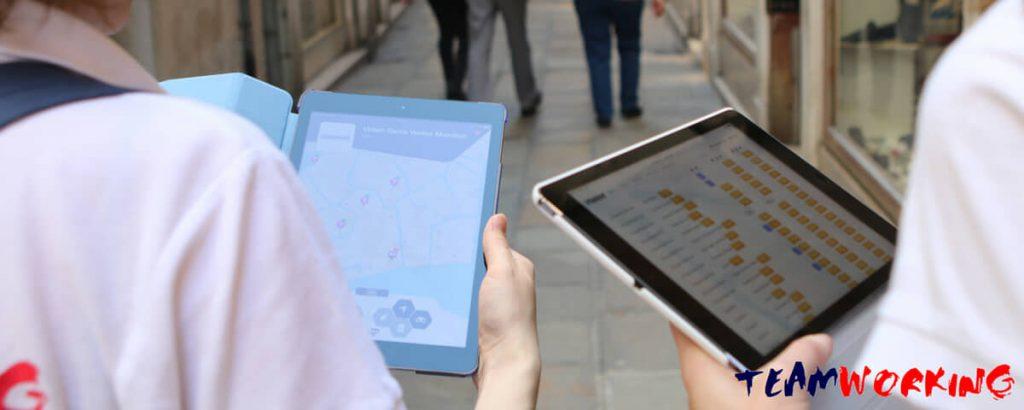 Team Building Caccia al Tesoro con iPad