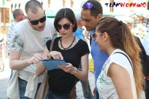 Urban Game con iPad a Venezia