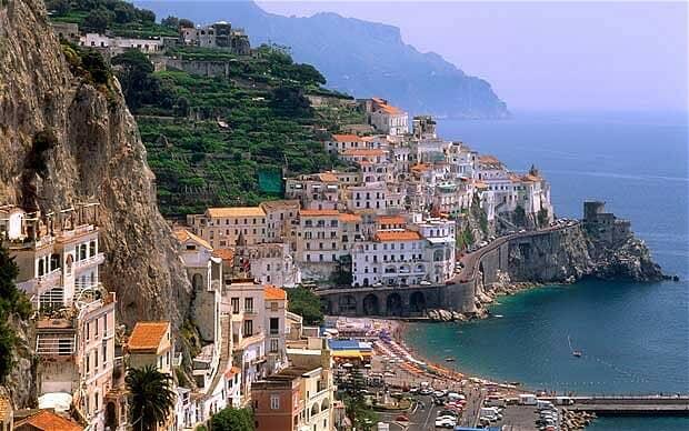 Sorrento golfo di Napoli