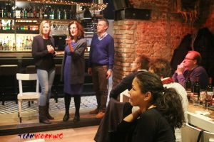 Dinner with Murder with participants playing roles