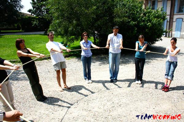 Esercizi di Team Building: Bilancia Umana