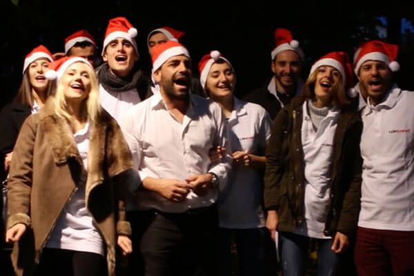 Team Building for Christmas: Corporate Song Creation