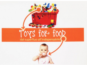 Toys for food