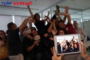 Caccia al Tesoro aziendale Indoor con iPad