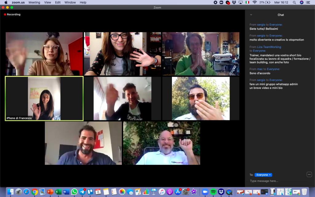 team building virtuale zoom